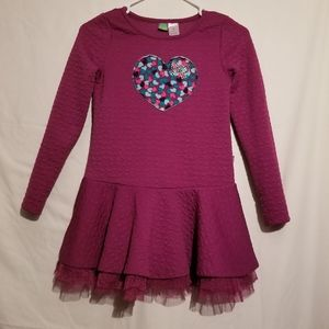 Dollie & Me Purple Heart Dress